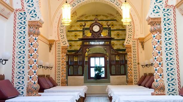 Interior of Turkish Baths