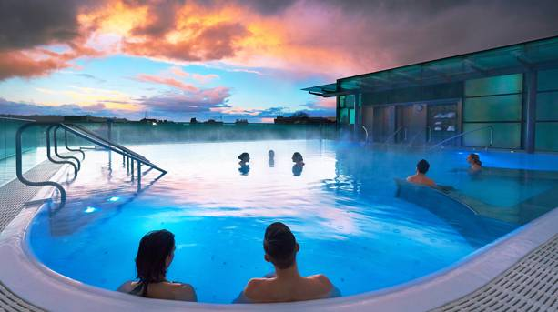 Twilight at Thermae Bath Spa