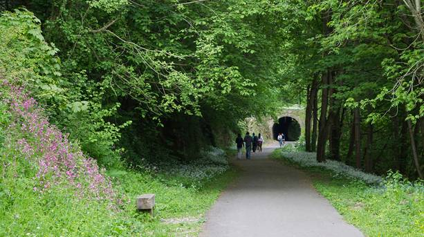 Two Tunnels Cycle Path