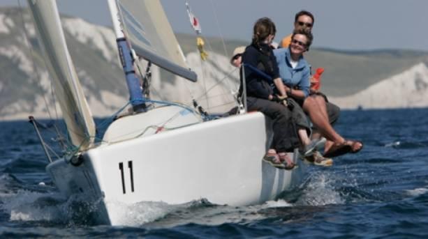 Sailing at Hayling Island