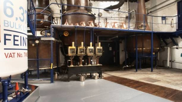 The Still Room at the Plymouth Gin Distillery