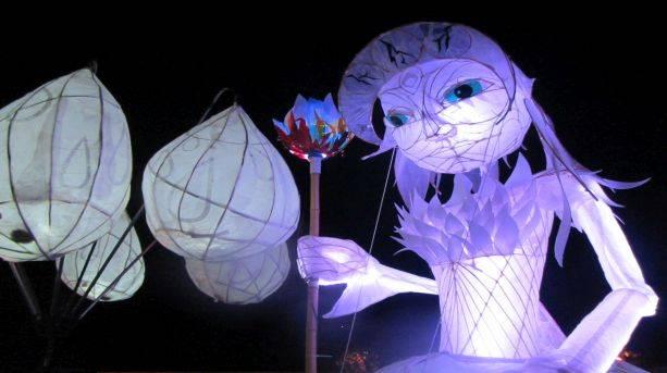 The Lamplighter Festival in Todmorden, Calderdale