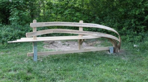 WANDER art trail poetry bench © Visit Hull and East Yorkshire