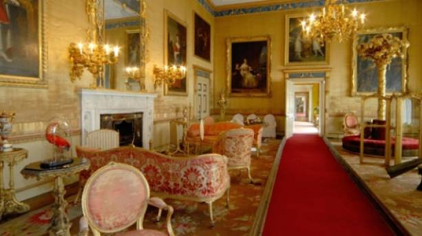 Inside Burton Constable Hall
