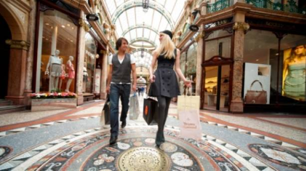 Shopping in the Victoria Quarter