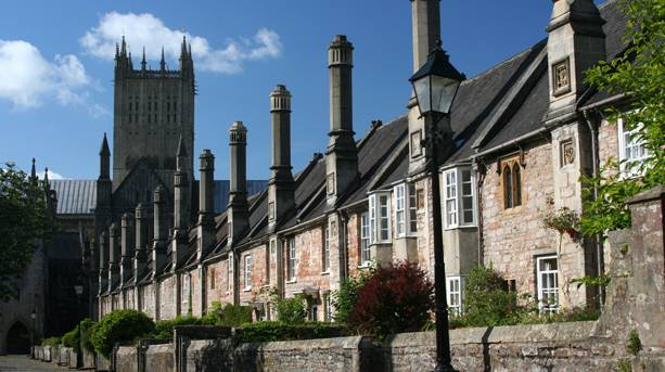 Vicars Close and cathedral