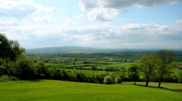 View of the Vale of Evesham