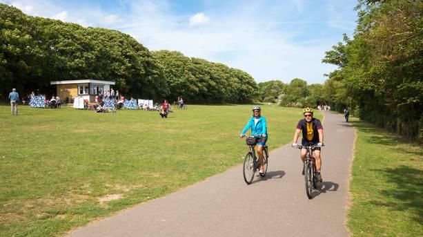 Viking Coastal Trail through King George VI Memorial Park