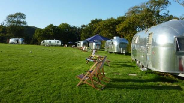 Vintage Vacations Airstream Site, Isle of Wight