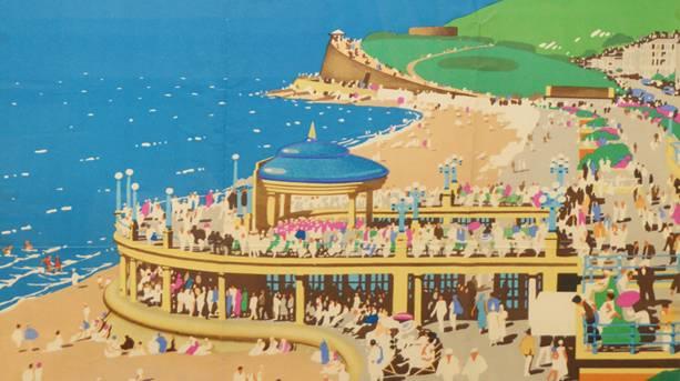Vintage Eastbourne poster