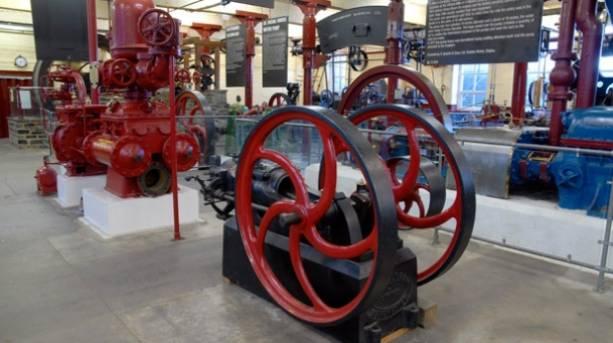 Steam Pump at Bradford Industrial Museum