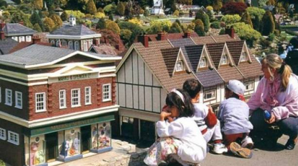 Mini Marks and Spencer and Bekonscot Model Museum, Buckinghamshire
