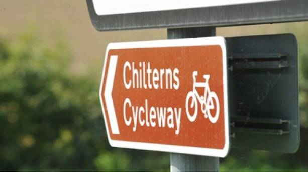 Chilterns Cycleway route signs