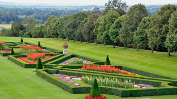 Cliveden's raised parterre, Buckinghamshire