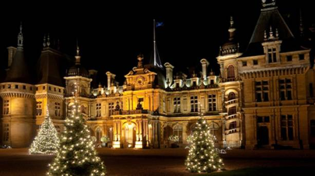 Christmas at Waddesdon Manor, Buckinghamshire