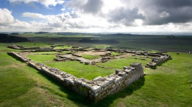 Housesteads Roman Fort in Hexham, Northumberland