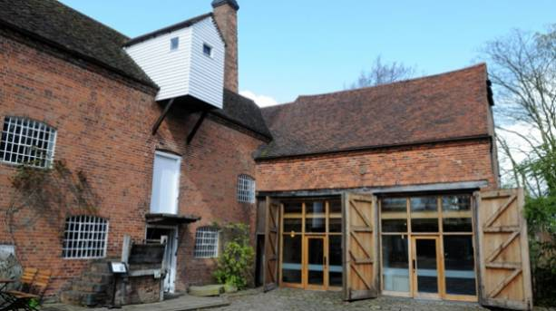 The entrance to Sarehole Mill in Birmingham