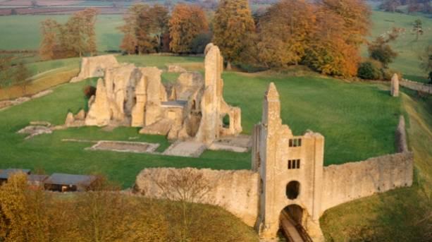 Sherborne Old Castle in Sherborne, Dorset