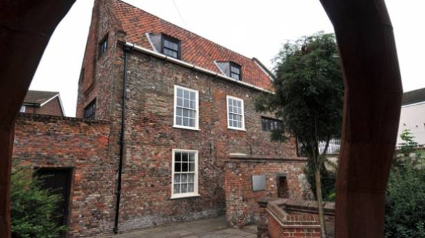 Old Merchant's Row House in Great Yarmouth