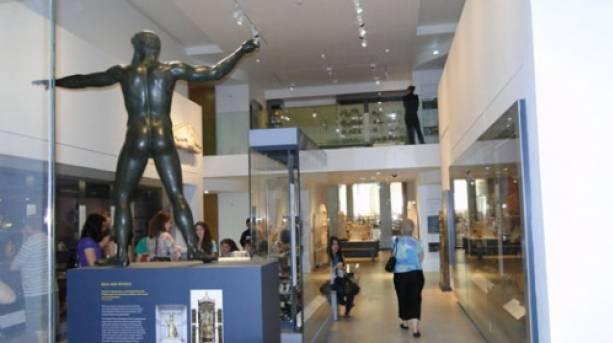 Zeus in Ashmoleon Museum, Oxford