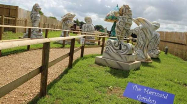 The Mermaid Garden, Chipping Norton