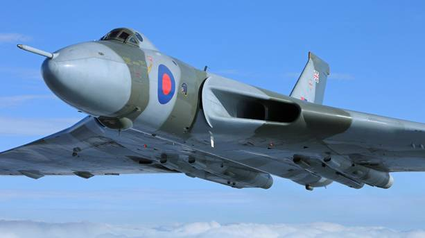 XH558 - the last flying Vulcan bomber in the world