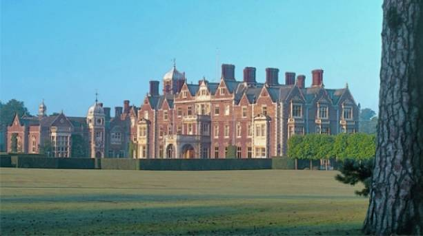 The charming grounds of Sandringham House