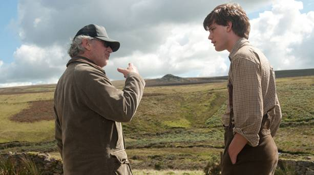 Filming 'War Horse' on Dartmoor with Steven Spielberg and Jeremy Irvine