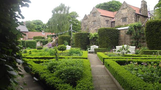 Manor house and landscaped gardens