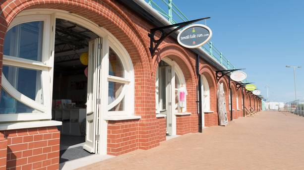 Photo of the shops at the West Pier Arches