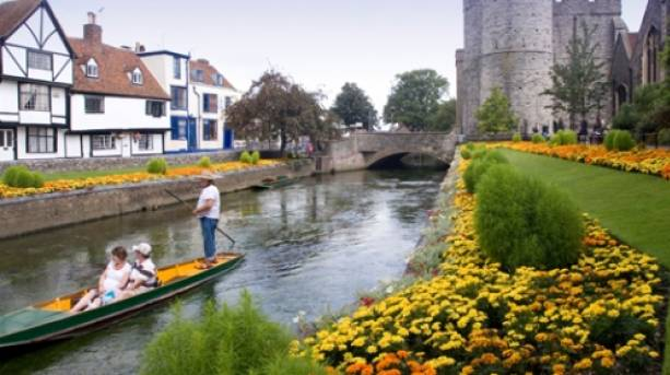 Westgate Towers Gardens and Punt