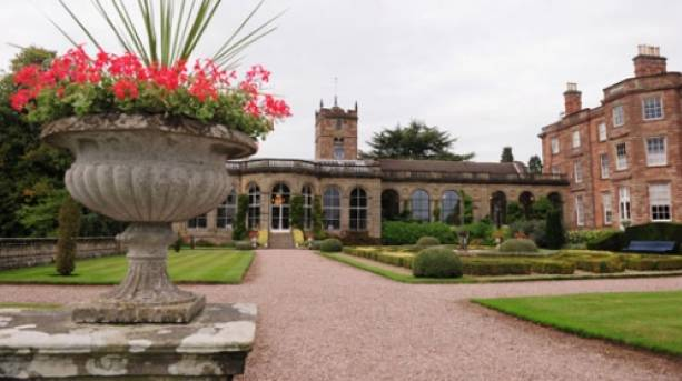 Picturesque Weston Park Stately Home & Gardens