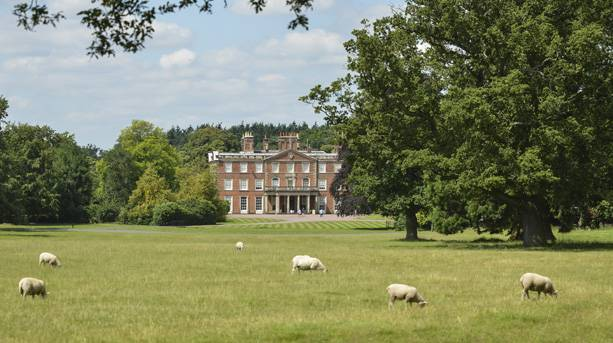 Weston Park, Staffordshire, View to House