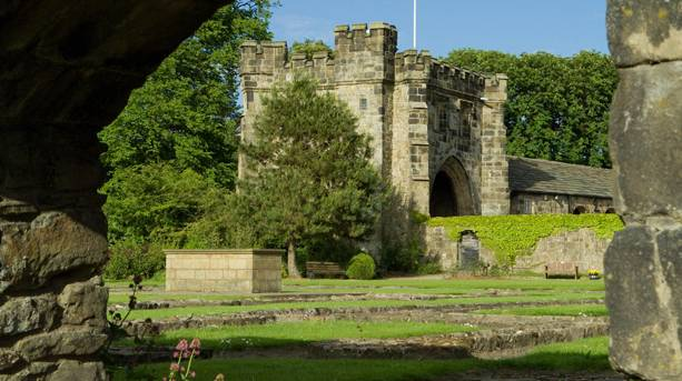 Whalley Abbey Gatehouse, Lancashire