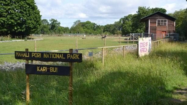 Mahali Pori National Park, Wild Place Project, Bristol © Angharad Paull