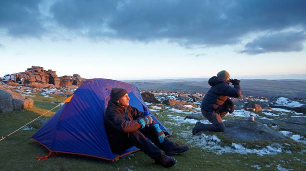 Wild Camping on Dartmoor