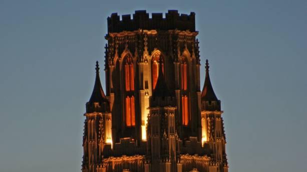 Wills Memorial Tower dominating Park Street