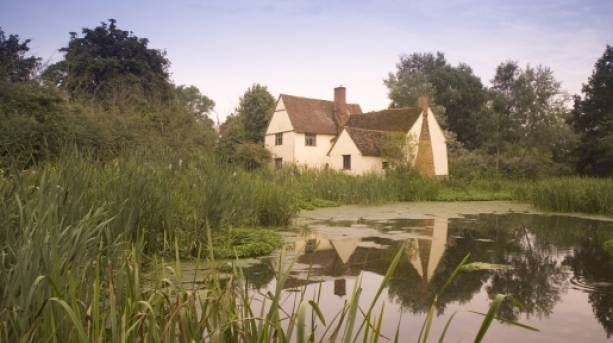 Painting in Constable Country, Flatford, Suffolk
