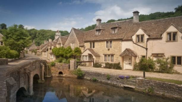 Castle Combe, in the Wiltshire Cotswolds