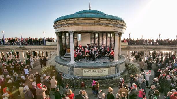 Christmas Concert at Eastbourne Bandstand
