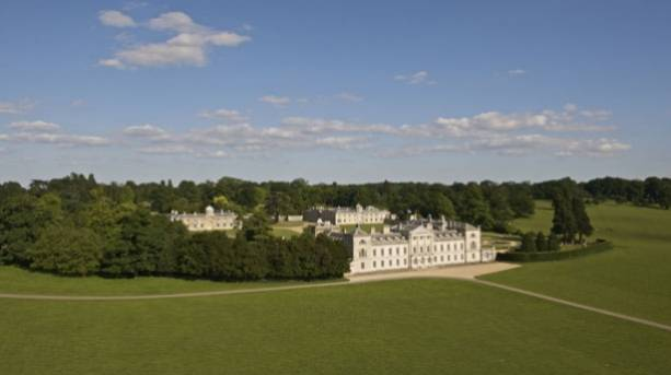 View of Woburn Abbey