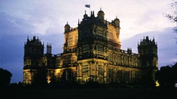 Wollaton Hall in The Dark Knight