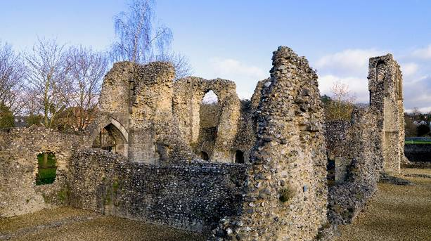 Wolvesey Castle ruins