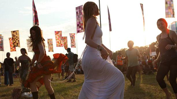 Dancing at WOMAD