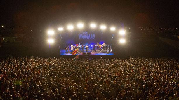 Live music at WOMAD
