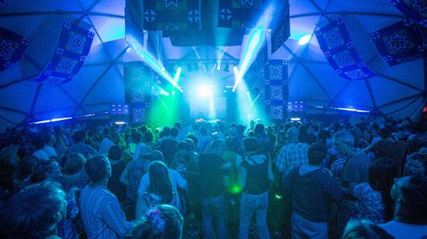 Clubbing at WOMAD