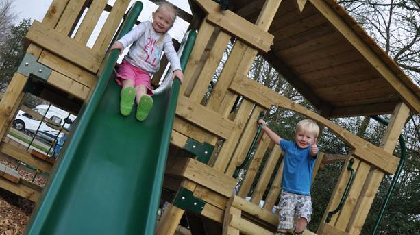 Woodovis Park – children's play area