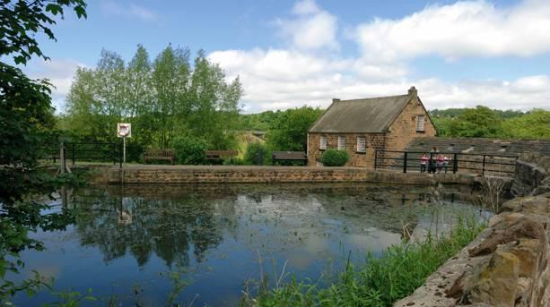 Worsbrough Mill and reservoir