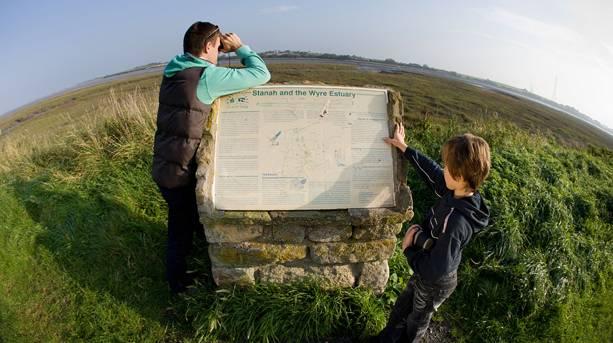 Wyre Estuary Country Park, Lancashire