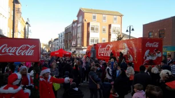 Christmas crowds
